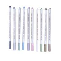 Marker Pens Satz von 10 Farben Metallic Stift Marker für DIY
