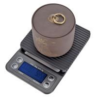Küchenwaage 3kg 0.1g elektronische Digitalwaage mit LCD Display