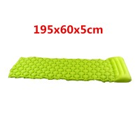 Luftmatratze Isomatte 195x60x5cm Schlafmatte matratze für Camping grün