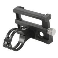 Fahrrad Handyhalter Halterung Ständer für 3.5 - 6.2 Zoll Handy Schwarz