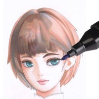 Marker Graffiti Pens Stift Fettige 80 Farbe Set Doppelkopf Textmarker