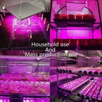 Wachstumslampe LED Pflanzenlampe Pflanzenlicht Lampe 45W für Pflanzen