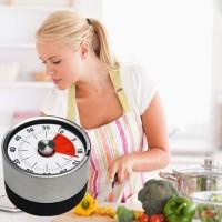 Kurzzeitmesser Kurzzeitwecker Timetex  Alarm magnetisch f. Küche Runde