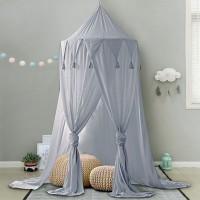 Baldachin Betthimmel Mückennetz Chiffon Moskitonnetz für Kinder Baby