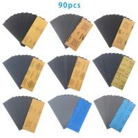 Schleifpapier Sortiment-Set 90pcs für Schleifen 400-3000 Körnung