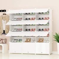 Schrankregal Schuhregal Regale für Schuhe Stiefel Hausschuhe 7 Ebenen