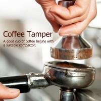 Kaffee Espresso Tamper Kaffeemehlpresser Stampfer Stempel Barista 51mm