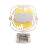 Mini Ventilator Clip Fan USB Lüfter Desktop Tischventilator mit Akku