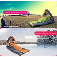 Schlafsack Deckenschlafsack Camping ultra leicht Winterschlafsack