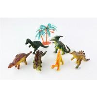 Pädagogisches Dinosaurier Spielzeug Kunststoff Modell 12pcs für Kinder