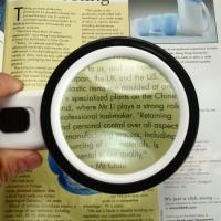 Leuchtlupe Leselupe Lupe mit Licht Vergrösserungsglas für Lesen