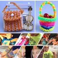 Loombänder Kasten Set Kinderspielzeug für Geburtstagsgeschenk