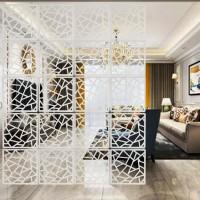 12pcs DIY Raumteiler Bildschirm Kunststoff Hängeleinwand Wandaufkleber