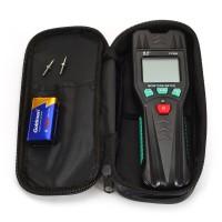 Feuchtigkeitsmesser mit Batterie und Ersatzsonden Temperatur messen