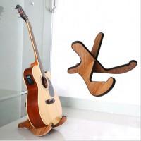 Gitarrenhalterung Holz Anti-Rutsch Musikinstrument Ständer für Gitarre