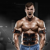 Bauchmuskeltrainer Massagegerät Muskelaufbau Fettverbrennung Training