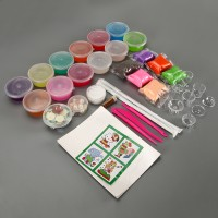 DIY Slime Kit Schleim Crystal Clay Schlamm Kinder Spielzeug Set