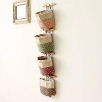 Hängeorganizer Wand hängenden kreativ 4 Tasche Hanging Storage Bag
