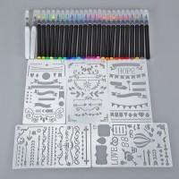 Pinselstifte Aquarellpinsel Handlettering Stifte für Bullet Journal