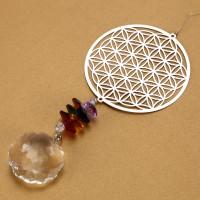 Kristall Prismenkugel Regenbogen Maker Glas Fenster Sonnenfänger