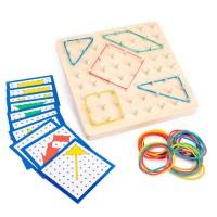 Montessori Holz Puzzle Spielzeug Form Puzzle Lernspielzeug für Kinder