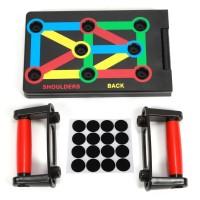 Trainingsständer Fitnessgerät Trainingsgeräte 9 in 1 Push Up Board Set