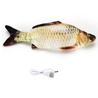 Elektrisch Simulation Fisch Katzenspielzeug Spielzeug für Katze