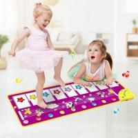 Piano Mat Tanzmatte Klaviermatte Klaviertastatur für Kinder Spielzeug