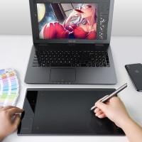 Grafiktablett Zeichentablett Malen A30 mit Stift mit Tasche f. Mac PC