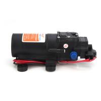 Membranpumpe Druckpumpe Wasserpumpe Mini Pumpe DC12V 1,7A schwarz