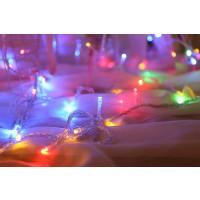 Lichterkette Kupferdraht Leiste Lichter 20M für Weihnachten Bunt
