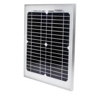 Solarpanel Solarzell Solarmodul Monokristallin Modul 10W Aluminum