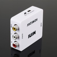 HDMI zu AV Konverter - HDMI zu Composite Wandler bis 1080P HDMI