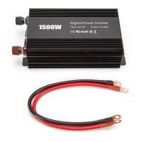 Power Inverter Wechselrichter Spannungswandler 1500W mit USB Ports
