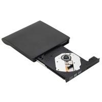 DVD Brenner Externer USB Laufwerk CD Brenner f.Laptop Macbook Schwarz