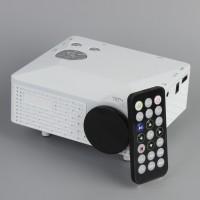 Mini Beamer LED Projektor, Unterstützung 1080P mit VGA / HDMI Eingang