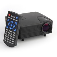 Mini Beamer, Video Beamer  Tragbar Home Heimkino LED Beamer HD 1080P