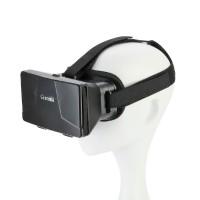 """Virtual Reality 3D Brille für 4~6"""" """"Smartphone iPhone Samsung Schwarz"""