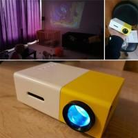 1080P Heimkino LED Beamer HD HDMI Multimedia Player Projektor USB