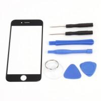 """Ersatzglas für iPhone 6  4.7"""", Front Scheibe Display Reparaturset Werkzeug Scheibe schwarz"""