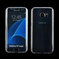 Vollschutz Hülle für Samsung Galaxy S7 Edge, Transparent Soft TPU
