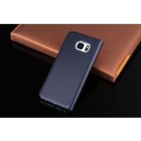 Tasche Hülle für Samsung Galaxy S7 Edge Schutzhülle Leder Schwarz