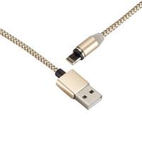 USB Magnetisch Lightning Kabel Datenkabel 1m golden f. iPhone 6 7 8 X