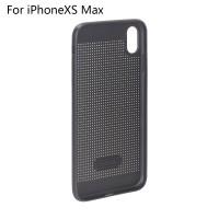 Hülle iPhoneXS Max Schutzhülle Handyhülle Silikonhülle Case schwarz