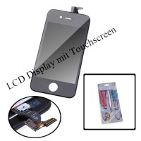 LCD Display Touchscreen Komplettset für iPhone 4