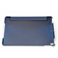PU Tasche Schutzhülle mit Transluzent Rücken Deckel für iPad 7 10.2
