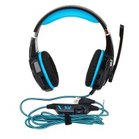Gaming Headsets, Kopfhörer Gaming mit Mikrofon LED, für PC schwarz
