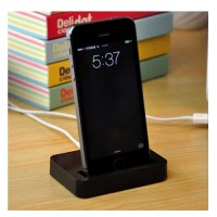 iPhone 5/5S/5G Dockingstation Base schwarz
