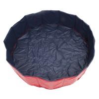 Badewanne für Tiere Hundebadewanne PVC 120x31cm klappbar