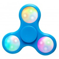 LED Fidget Spinner,blau Hander Spinner Finger Pocket Finger Spielzeug